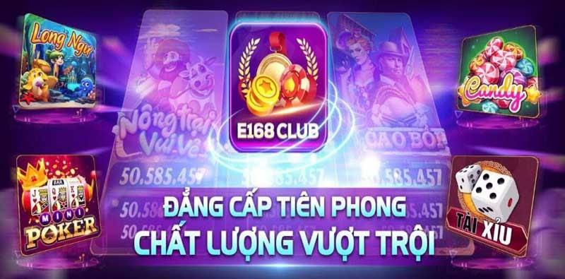 E168 Club - Cổng game bài đẳng cấp - Săn tiền cực chất - 789 Club