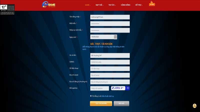 Ongame VN - Cổng game hoạt động hợp pháp, an toàn và uy tín - 789 Club