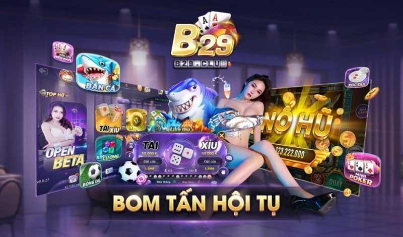 B29 Club - Sòng bài Casino trực tuyến đẳng cấp, uy tín và chất lượng - 789 Club