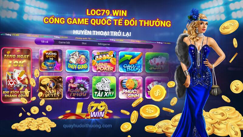 Lộc 79 - Sân chơi đánh bài hấp dẫn - Hái lộc mỏi tay - Chơi bài uy tín - 789 Club